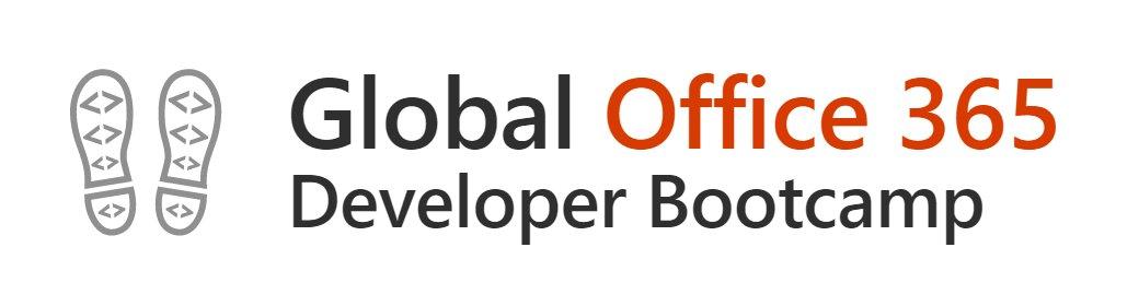 Global Office 365 Developer Bootcamp